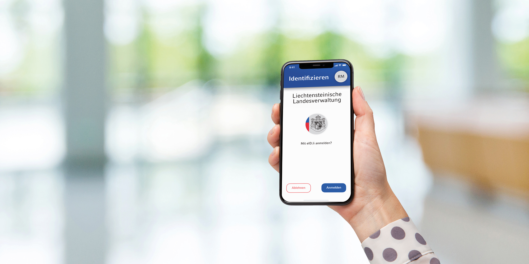 eIDli App am Smartphone